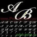 поделки ручной работы из металла.  Красивые буквы для ников - Ники - никнеймы - Ники для контакта.